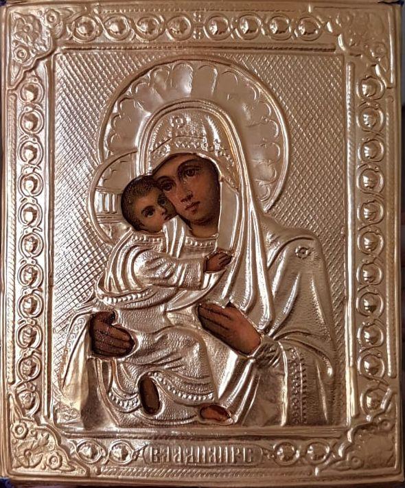 Реставрация Владимирской иконы Божией Матери