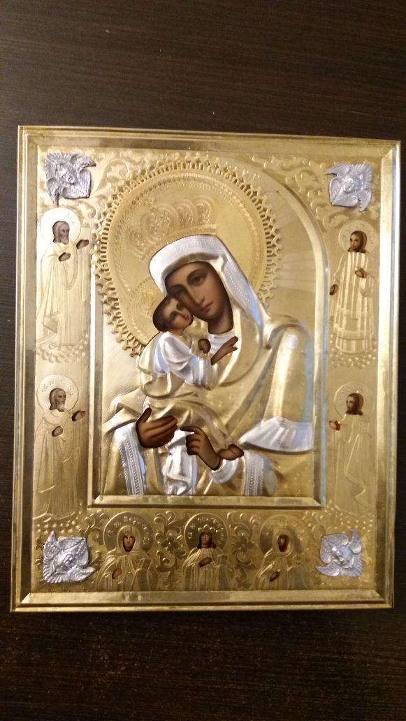 Богородица Почаевкая после реставрации
