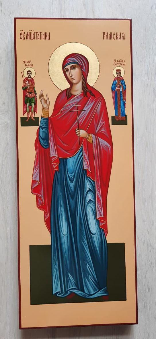 Св. Татиана Римская с предстоящими