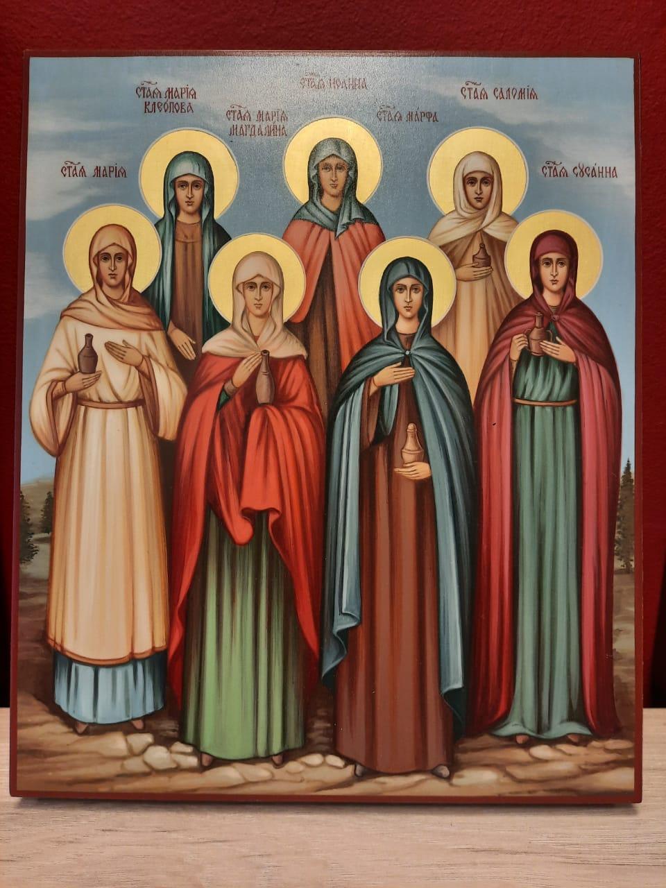 Икона святые жены-мироносицы