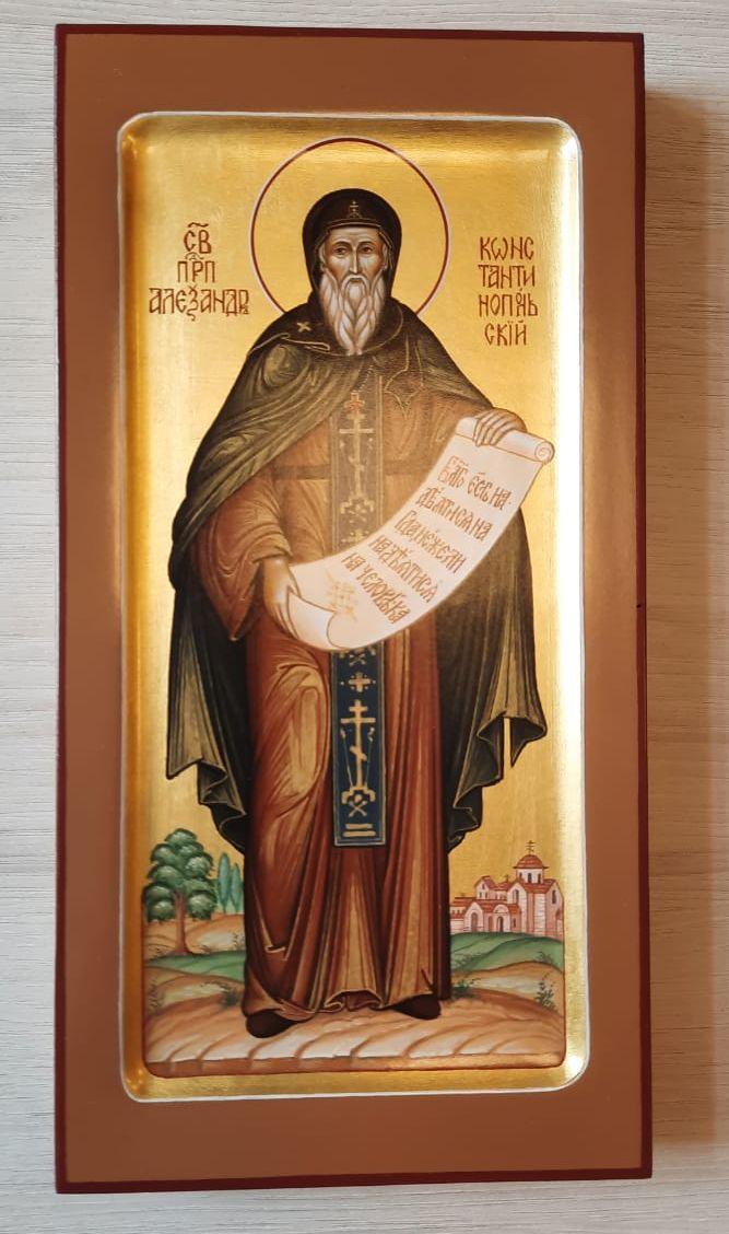Св. прп. Александр Константинопольский  (Первоначальник  обители неусыпающих)